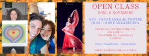 Open Class di danza Orientale con Ilaria Sorriso @ Centro Olistico Fiore del Risveglio